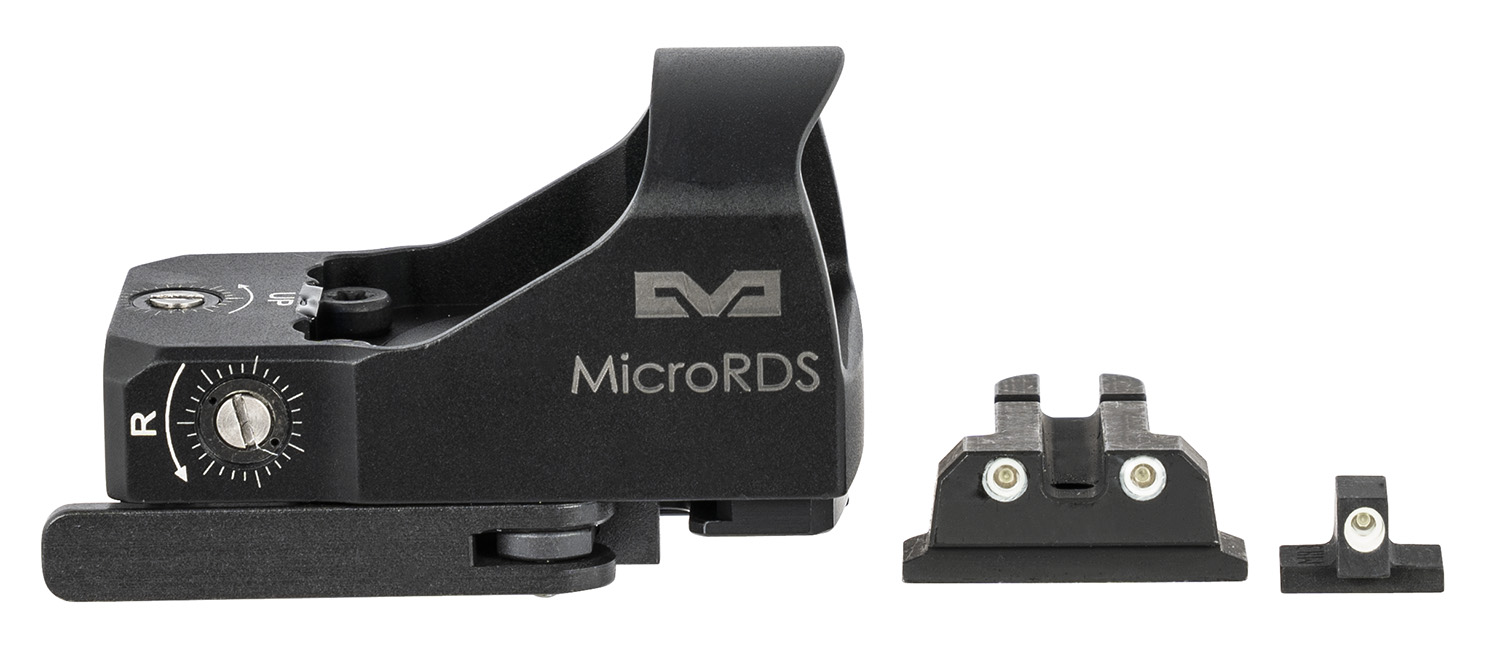 Meprolight USA ML880504 MicroRDS Kit S&W M&P Full Size 1x 3 MOA Illuminated Red Dot