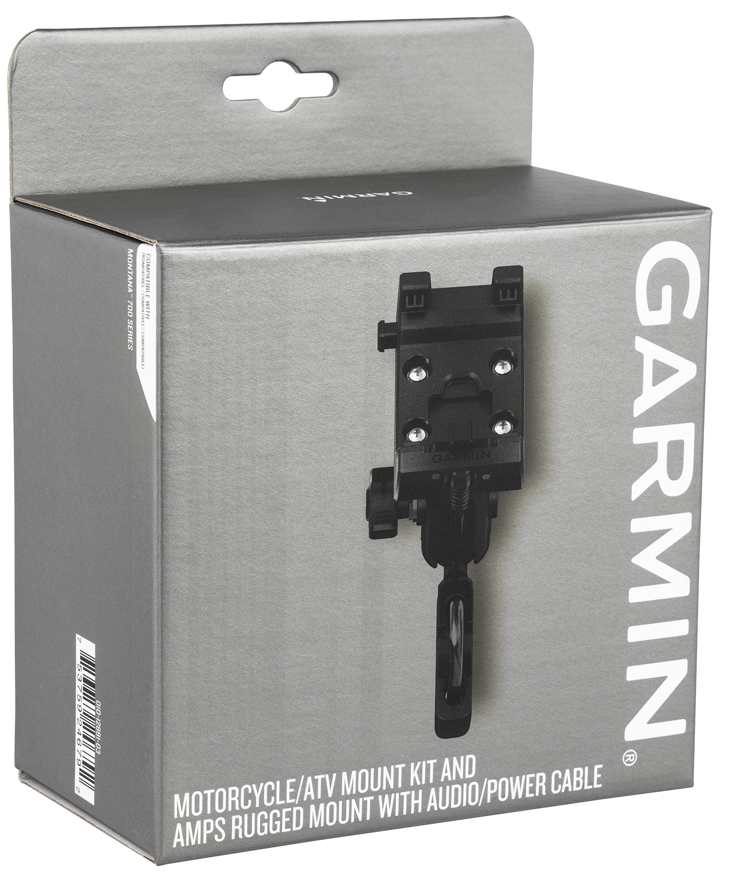 Garmin 0101288103 Motorcycle/ATV Mount Kit Black