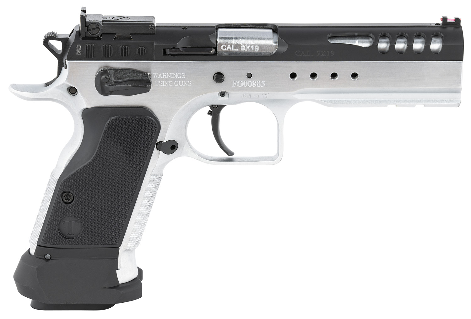Italian Firearms Group TF-LIMMSTR-9 Limited Master  9mm Luger 4.75