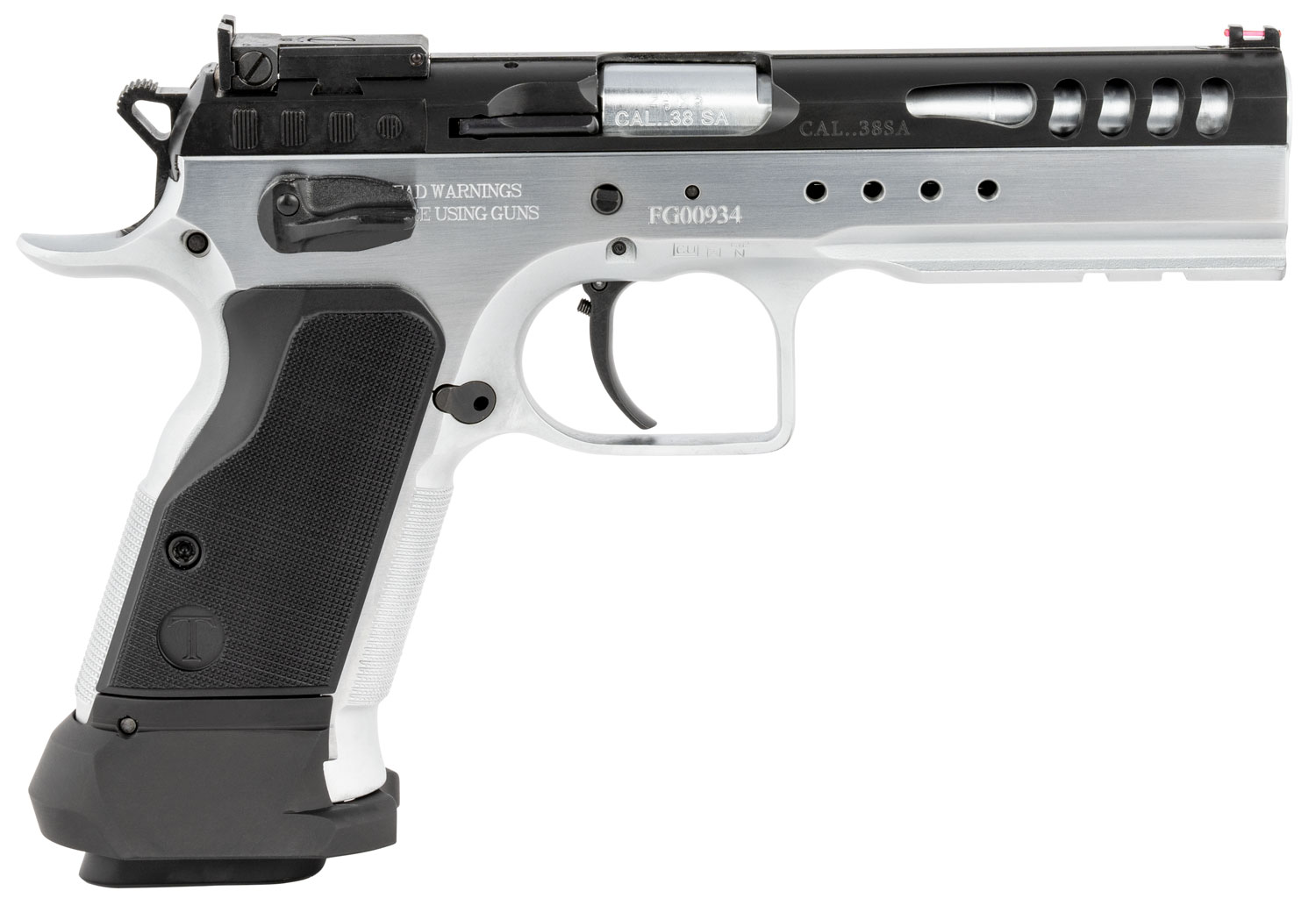 Italian Firearms Group TF-LIMMSTR-38 Limited Master  38 Super 4.75