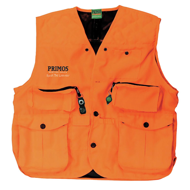 Primos Gunhunters Vest  <br>  Blaze Orange 2X-Large