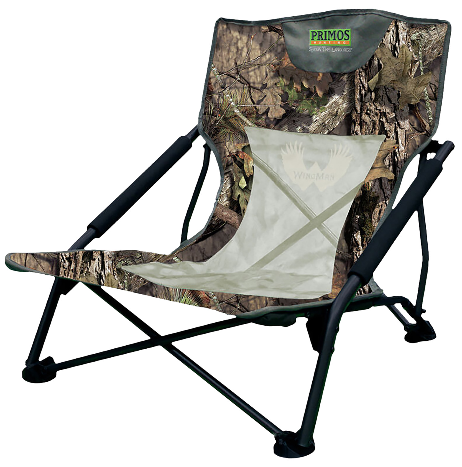 Primos Wing Man Turkey Chair  <br>  Mossy Oak Country