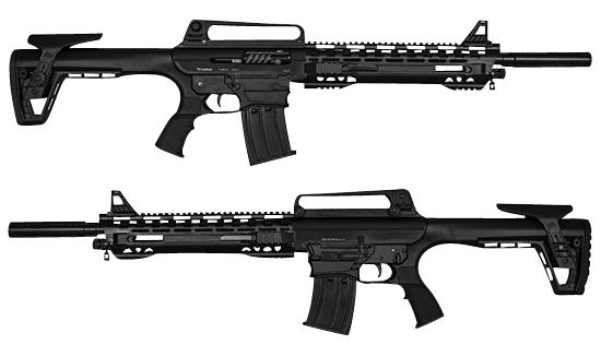 SDS Radikal MKX-3 Shotgun  <br>  12 ga. 19 in. Black 3 in.