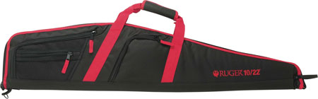 Allen 37540 Ruger Flagstaff 10/22 Rifle Case Endura Black w/Red Trim 42