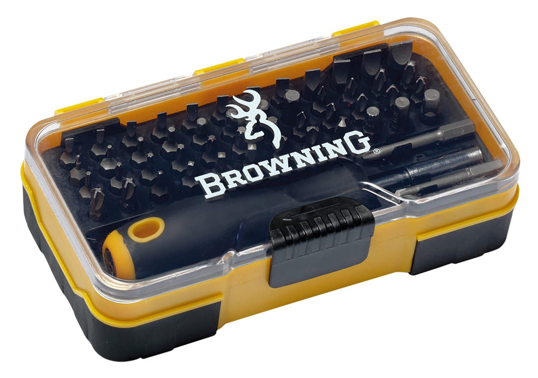Browning 12401 Screwdriver Tool Set 51pc Gunsmithing Set