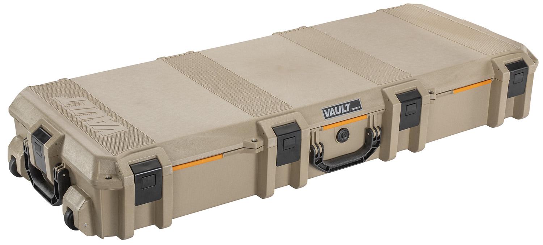 Pelican VCV730 Vault Tactical Rifle Case Tan Polymer 47.12