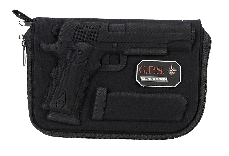 G*Outdoors GPS-908PC Molded Pistol Case  Black 1 Handgun for 1911