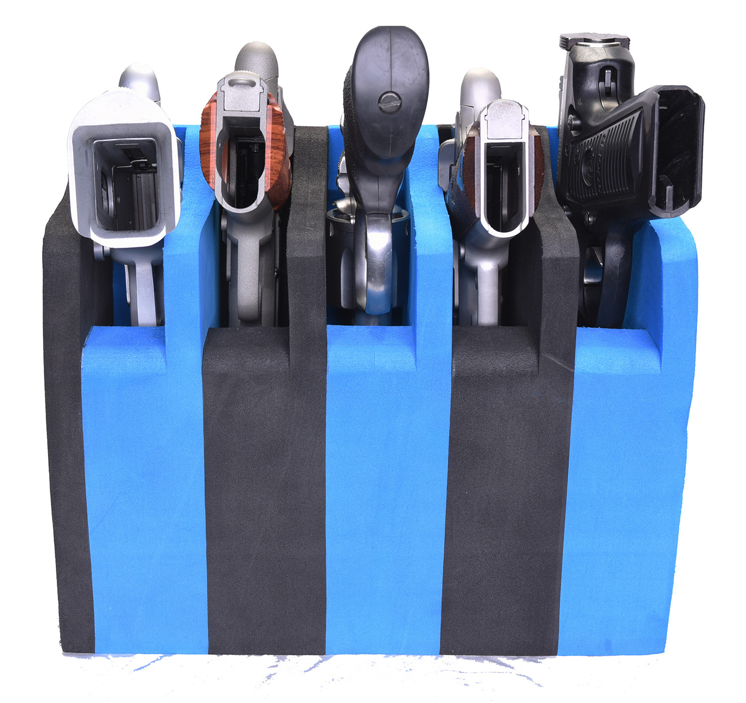 G.P.S. 5 Pistol Soft Cradle - Black/Blue