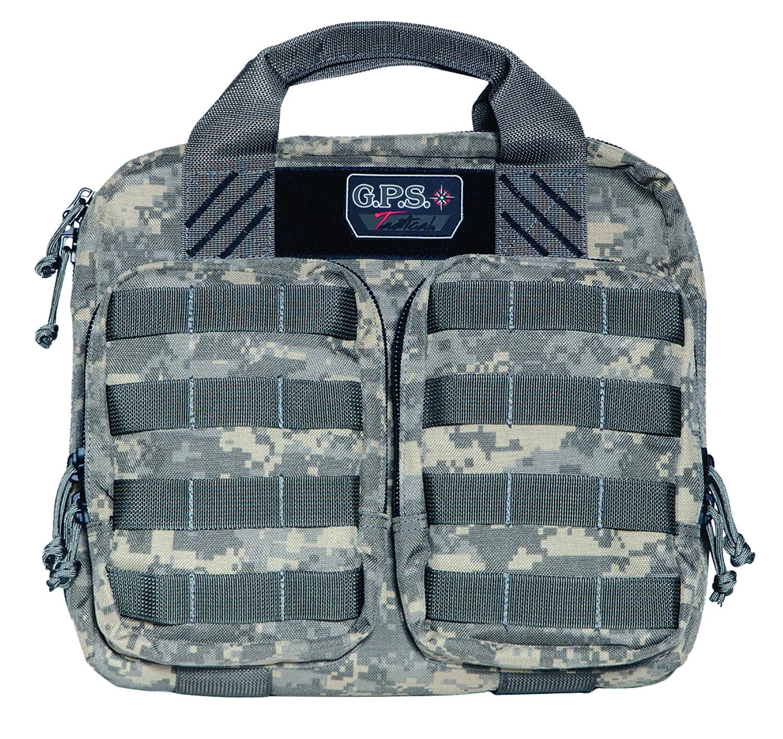 G*Outdoors GPS-T1410PCD Tactical Pistol Case  Fall Digital 2 Handguns 1000D Nylon