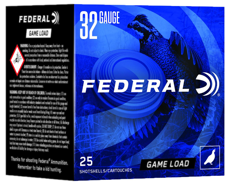 Federal N1328 Game Load  32 Gauge 2.50