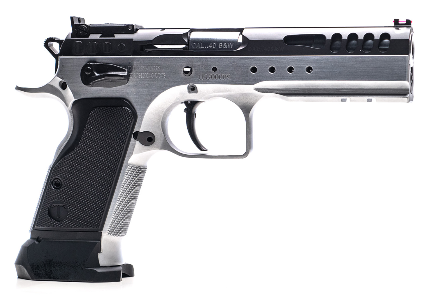 Italian Firearms Group TF-LIMMSTR-40SF Limited Master Small Frame 40 S&W 4.75