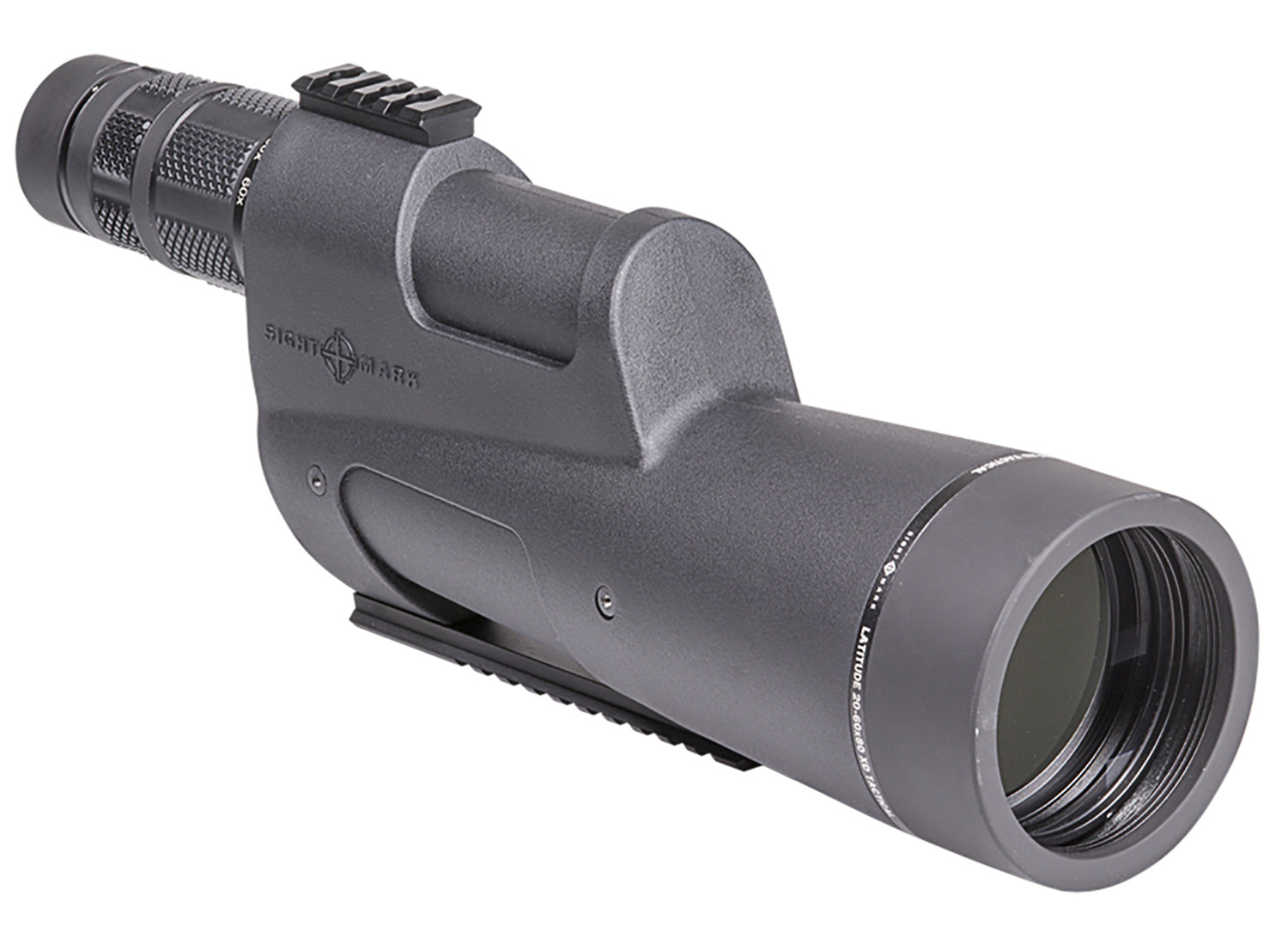 Sightmark SM11034T Latitude XD Tactical Spotting Scope 20-60x 80mm 131.10-43.50 ft @ 1000 yds FOV 1.06
