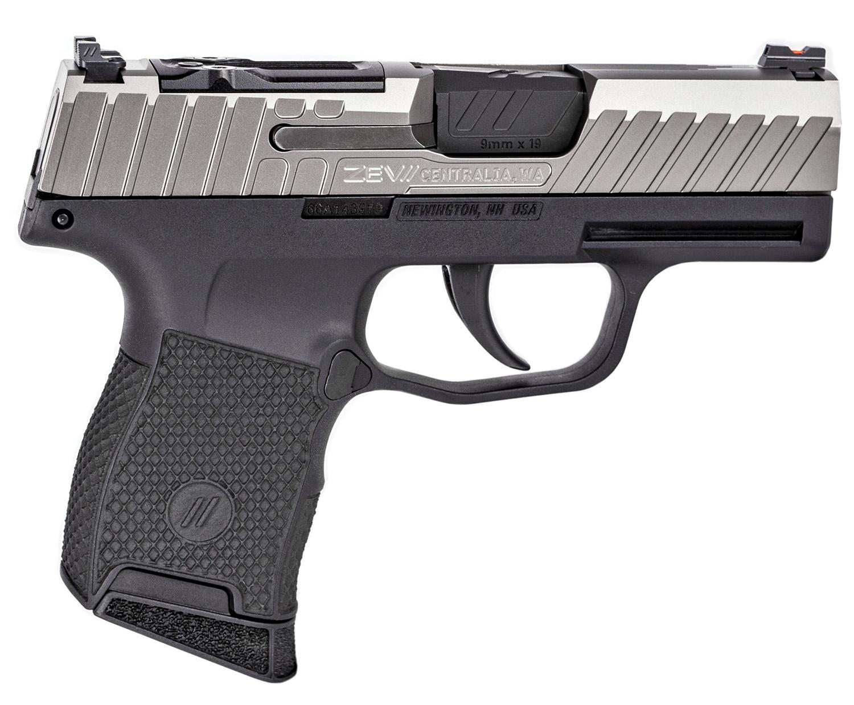 ZEV GUNMODZ365OCTANERMSCGR Z365 Micro Compact Gun Mod 9mm Luger 3.10