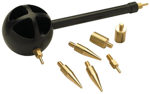 CVA AC1500 Powerbelt Bullet Starter Universal 9 Attachments Brass/Polymer Black