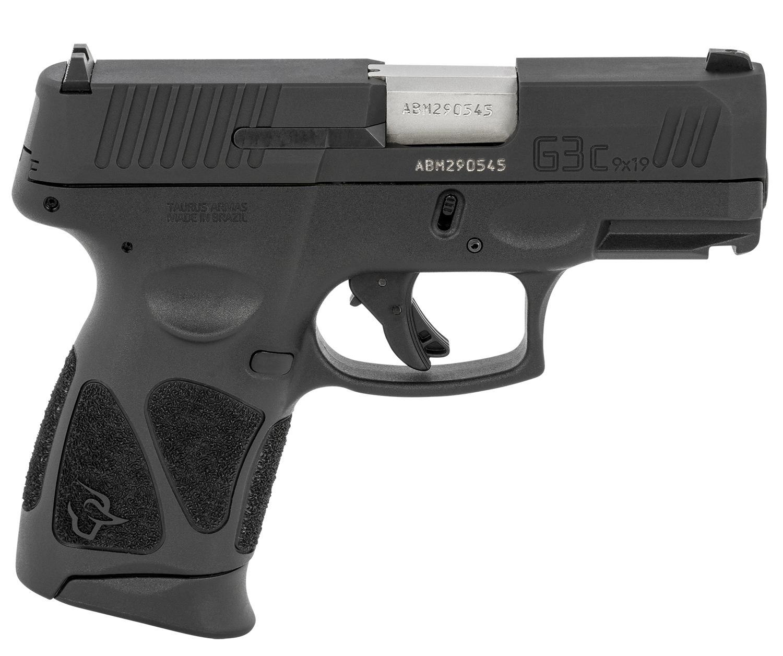 Taurus 1-G3C931MA G3c *MA Compliant 9mm Luger 3.20