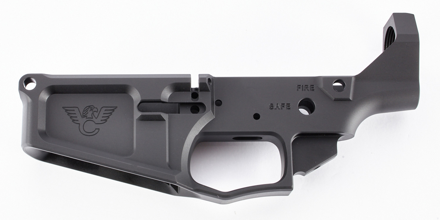 Wilson Combat TRLOWERBIL10ANO WC-10 Billet Receiver AR-10 Rifle Black Hardcoat Anodized