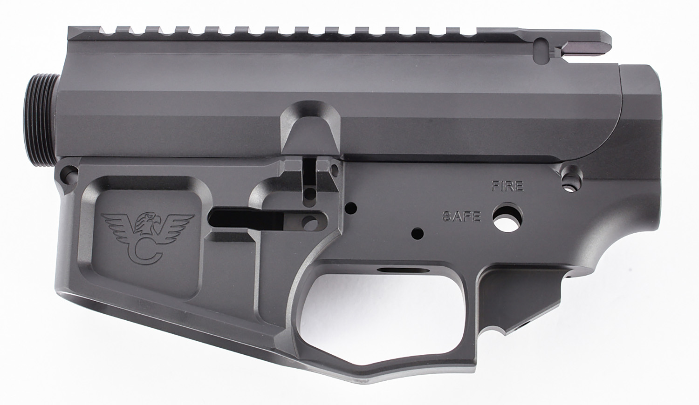 Wilson Combat TRLOWUPPBILANO AR Style Matched Set AR-15 Rifle Black Hardcoat Anodized