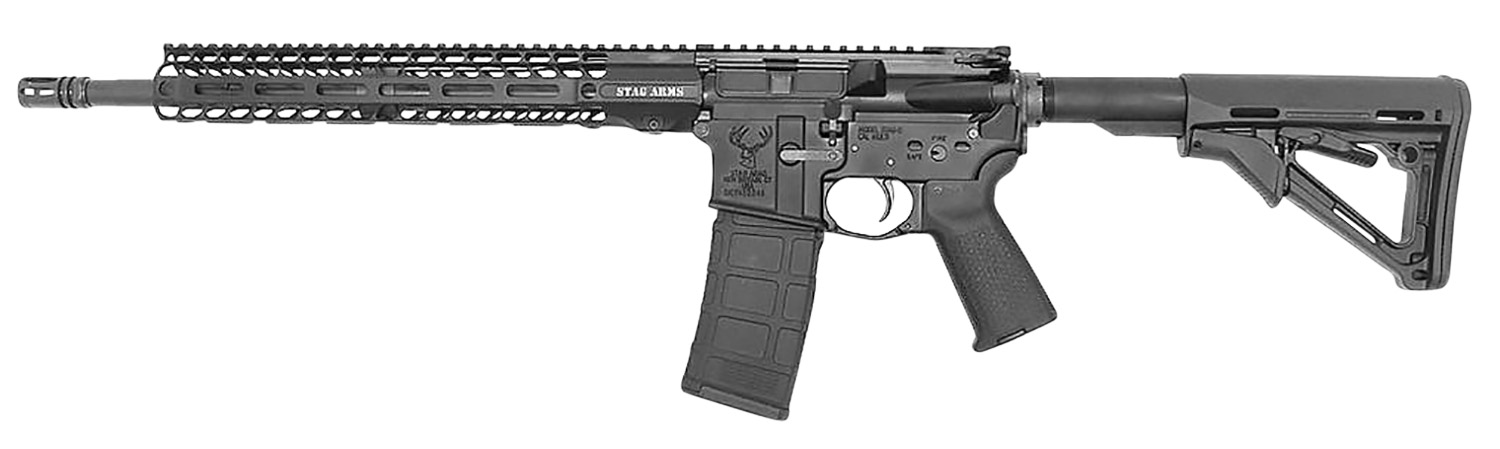 Stag Arms 15010122 Stag 15 Tactical 5.56x45mm NATO 16
