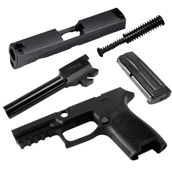 Sig Sauer CALX320F357BSS P320 Full Size X-Change Kit 357 Sig Sig 320 Handgun Black