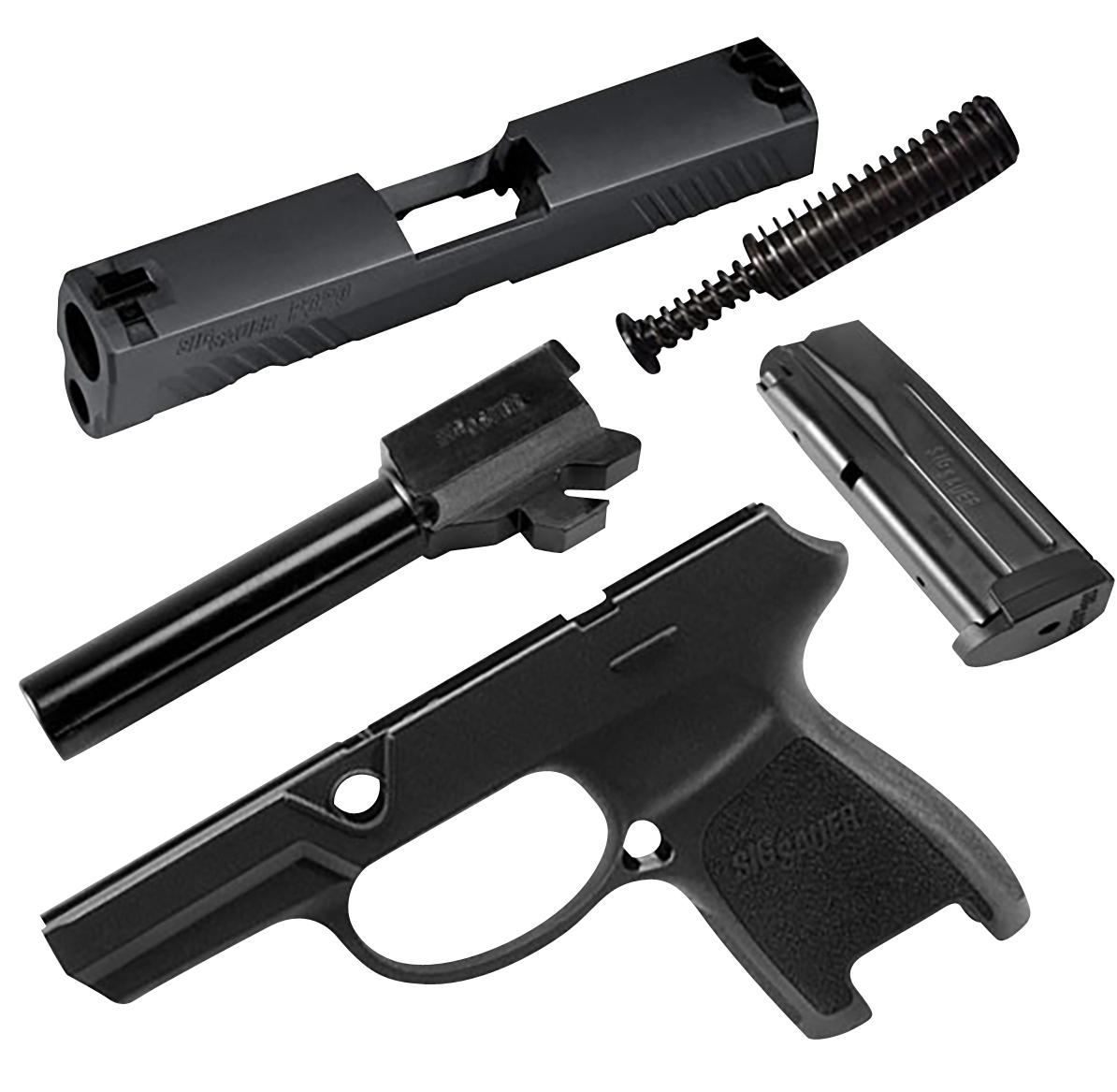 Sig Sauer CALX320SC9BSS P320 Subcompact X-Change Kit 9mm Luger Sig 320 Handgun Black