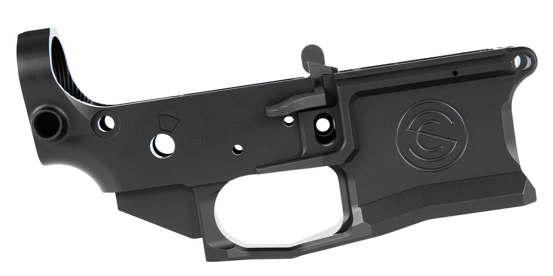 SilencerCo SU4766 SCO15 Lower Receiver Black Anodized Finish 7075-T6 Aluminum Material for AR-15