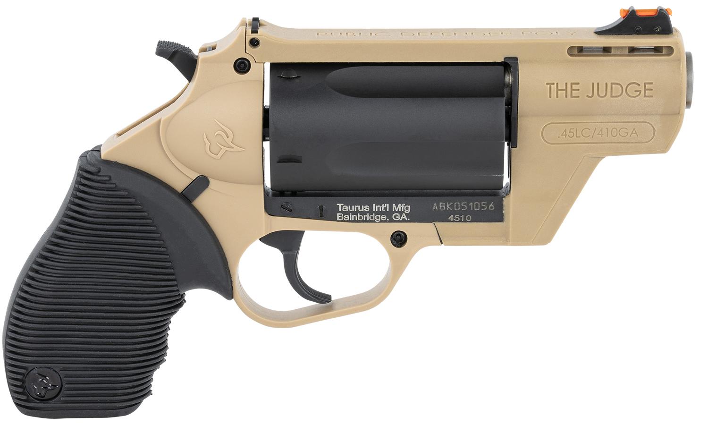 Taurus 2-441021FDE Judge Public Defender 45 Colt (LC)/410 Gauge 5rd 2.50