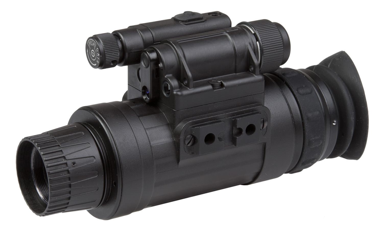 Agm Global Vision 11W14122103031 Wolf-14 NL3 Monocular 1x27mm Black Generation 2+ Level 3