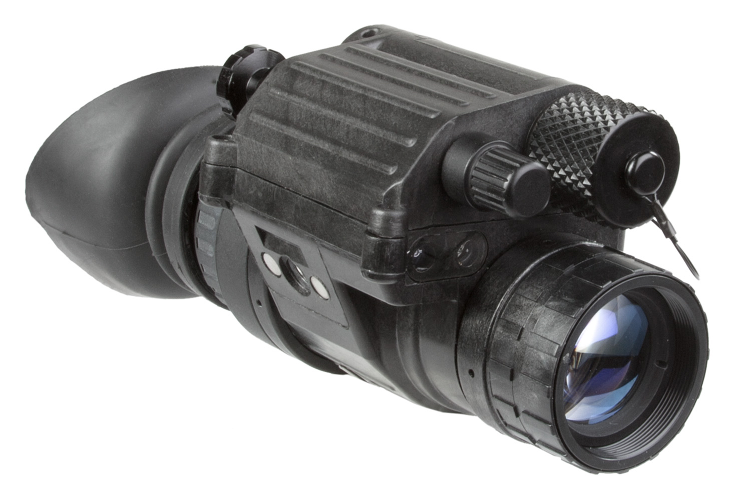 Agm Global Vision 11P14122453011 PVS-14 NL1 Gen2 Level 1 Night Vision Monocular 1x 40 Degrees FOV Black
