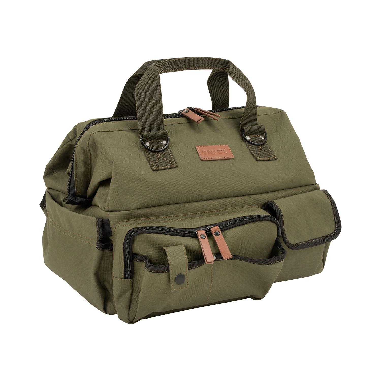Allen 8329 Triumph Ripstop Range Bag & Handgun Mat Green 600D Polyester