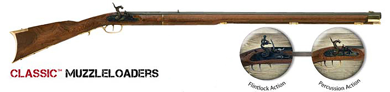 Traditions R2010 Kentucky Rifle  50 Cal Flintlock 33.50
