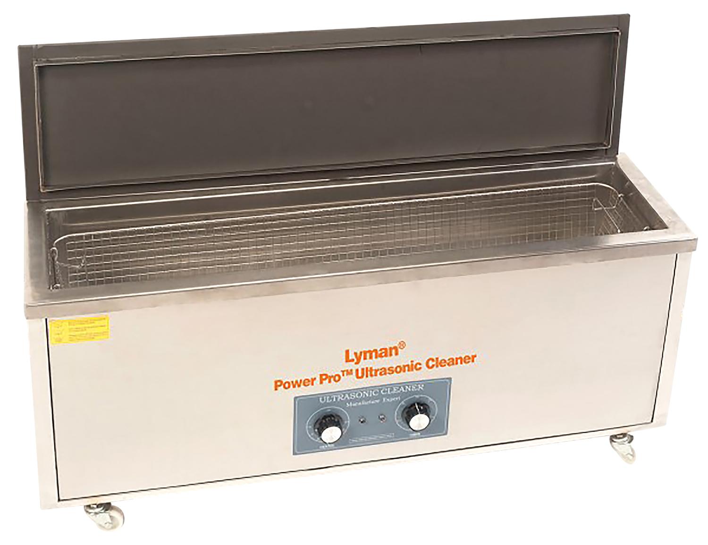 Lyman 7631734 Turbo Sonic Power Professional Ultrasonic Case Cleaner Silver 70 lbs