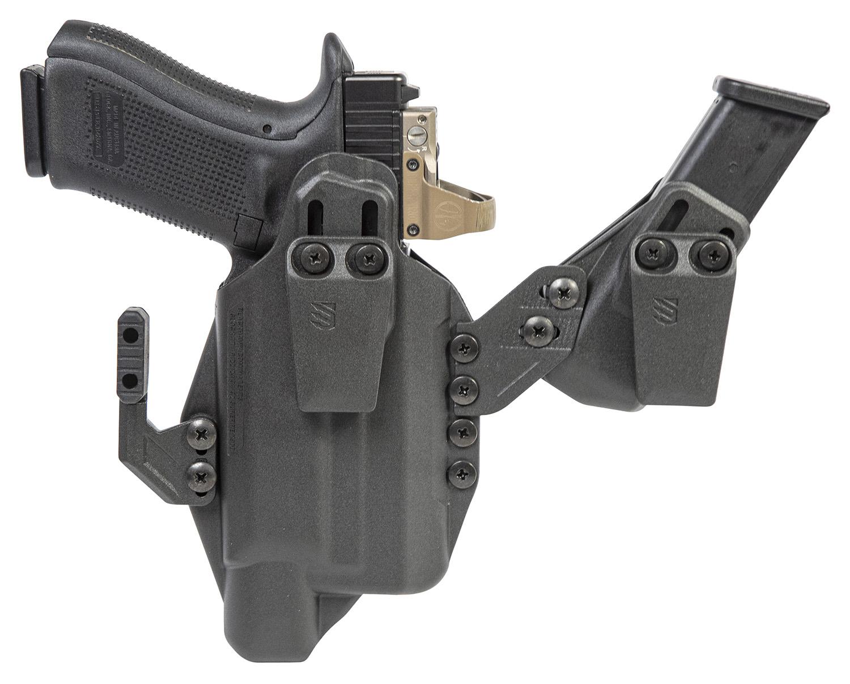 Blackhawk 416876BK Stache Inside-The-Waistband 76 Black Polymer IWB Fits Glock 43X/48 SF XSC Ambidextrous Hand