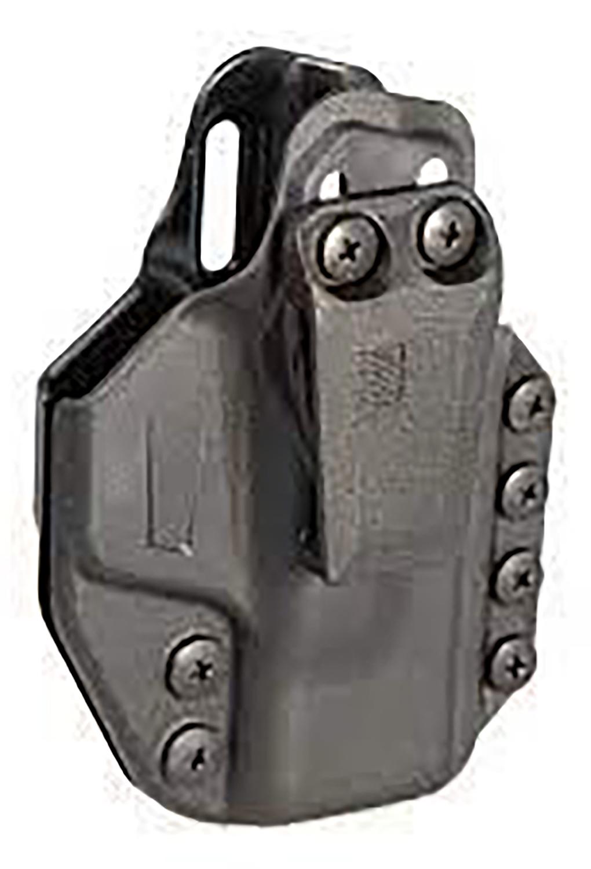 Blackhawk 416168BK Stache Inside-The-Waistband 68 Black Polymer IWB Fits Glock 43 Ambidextrous Hand