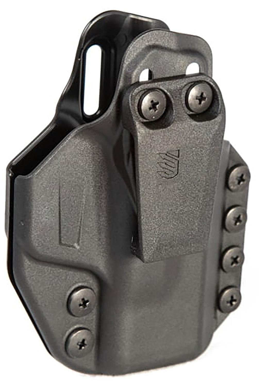 Blackhawk 416063BK Stache Inside-The-Waistband 63 Black Polymer IWB S&W Shield 9/40 Ambidextrous Hand