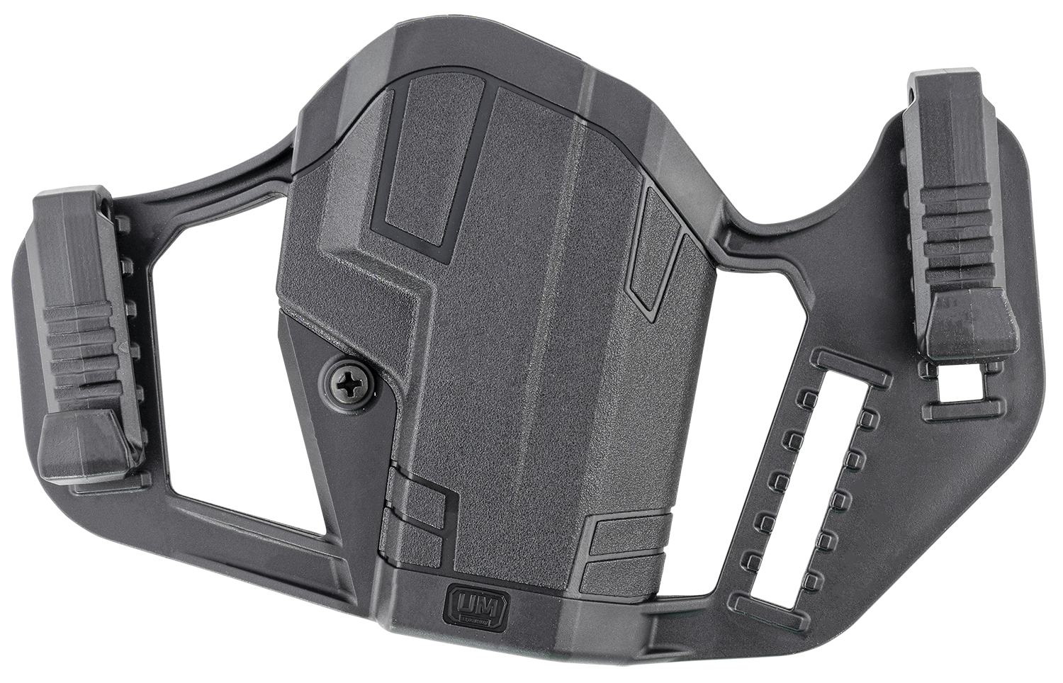 Uncle Mikes 79210 Apparition Hip Holster Black Synthetic IWB/OWB Fits Glock 19/23/26/27 Ambidextrous Hand