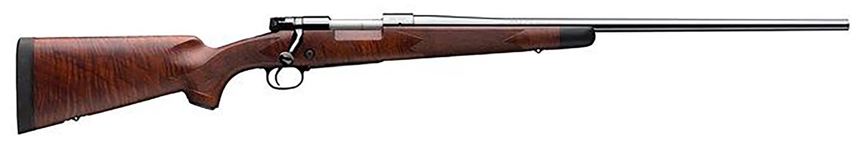 Winchester Guns 535203294 Model 70 Super Grade 6.5 PRC 3+1 Brushed Polish Blued Grade V/VI Fancy Walnut Stock Right Hand (Full Size) No Sights
