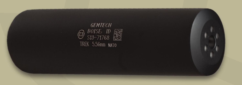 GEMTECH TREK 5.56 1/2X28 BLK
