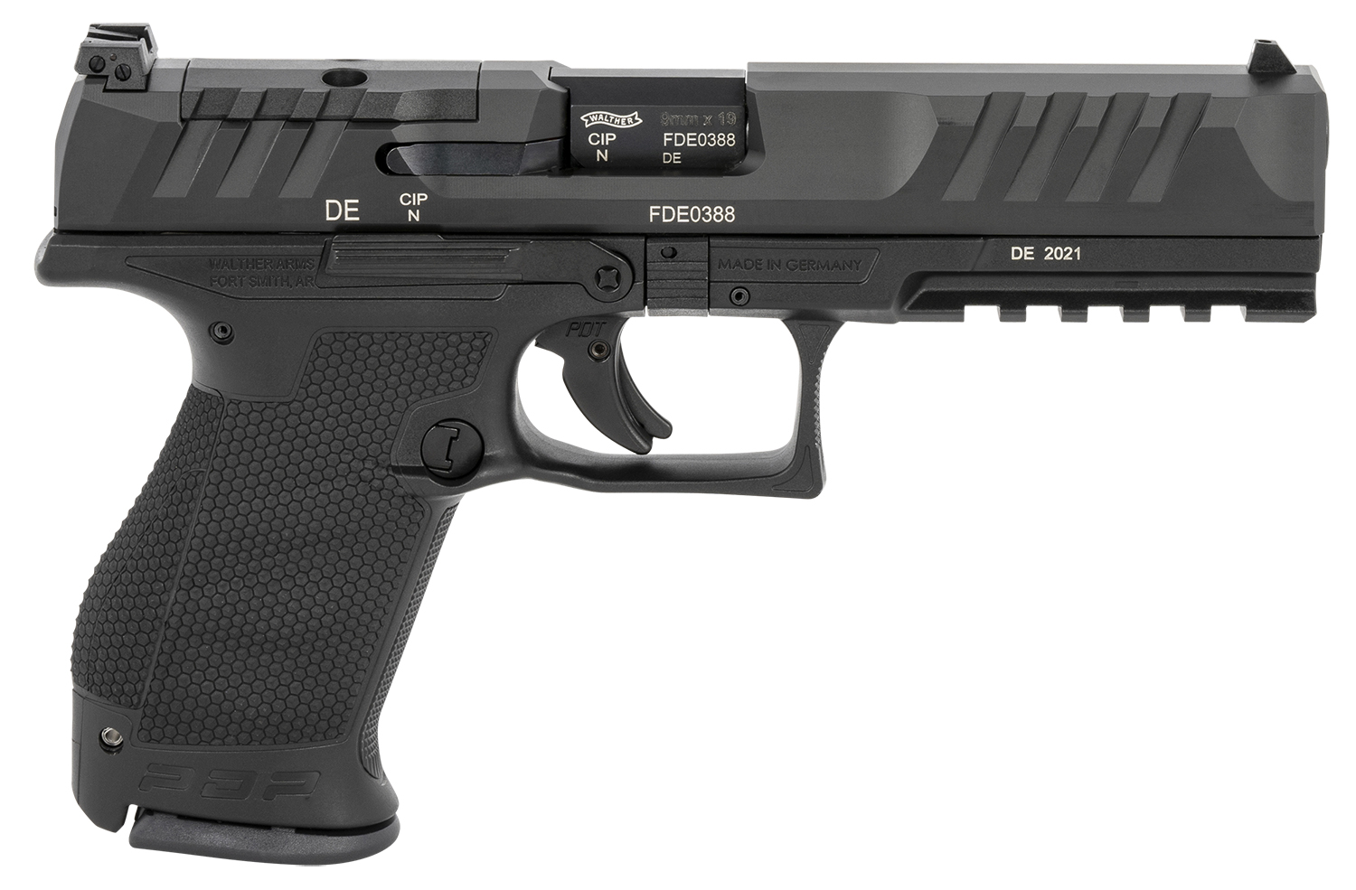 Walther Arms 2844222 PDP Compact Optic Ready 9mm Luger 5