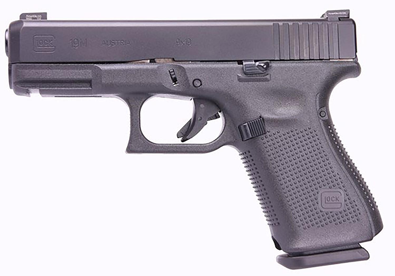 Glock PM1950333 G19 Gen5 9mm Luger 4.02