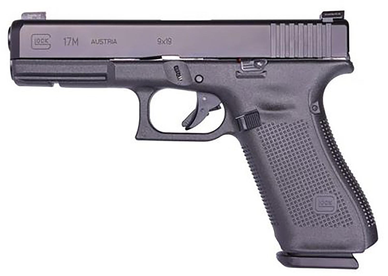 Glock PM1750333 G17 Gen5 9mm Luger 4.49