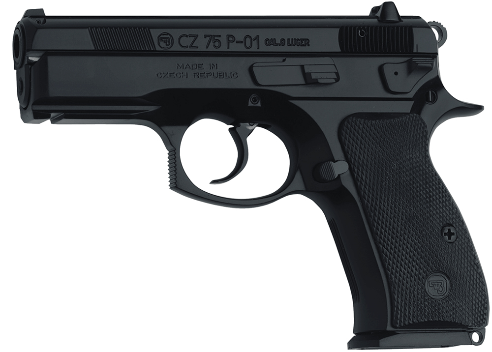 P-01 9MM BLACK 14+1 3.8 FS - ACCESSORY RAIL | 2 MAGAZINES