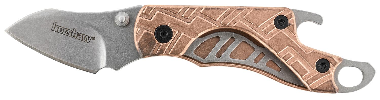 Kershaw Cinder Folder 1.375 inch Blade Copper Handle