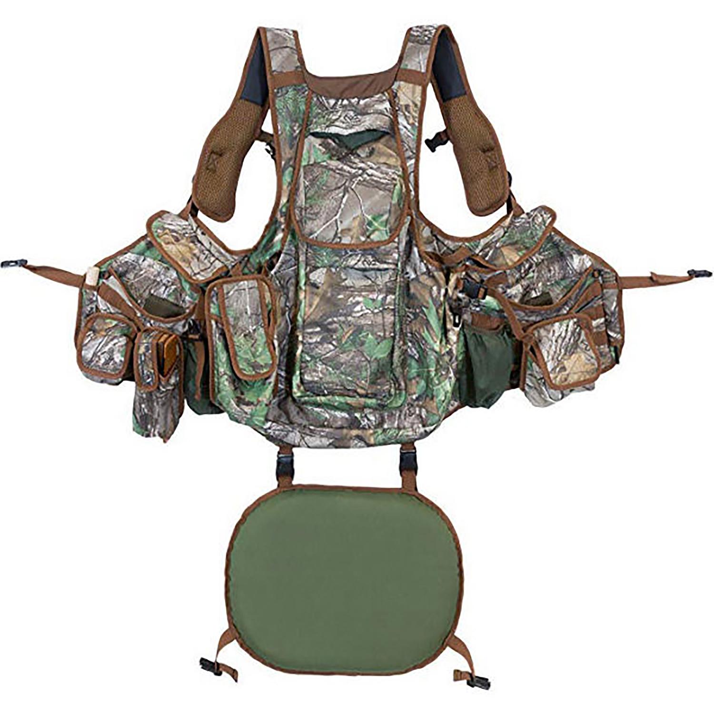 Hunters Specialties Undertaker Turkey Vest  <br>  Realtree Edge