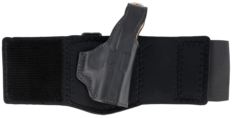 DeSantis Gunhide  Die Hard Ankle Rig Glock Black Leather Ankle Glock 43/43x Right Hand