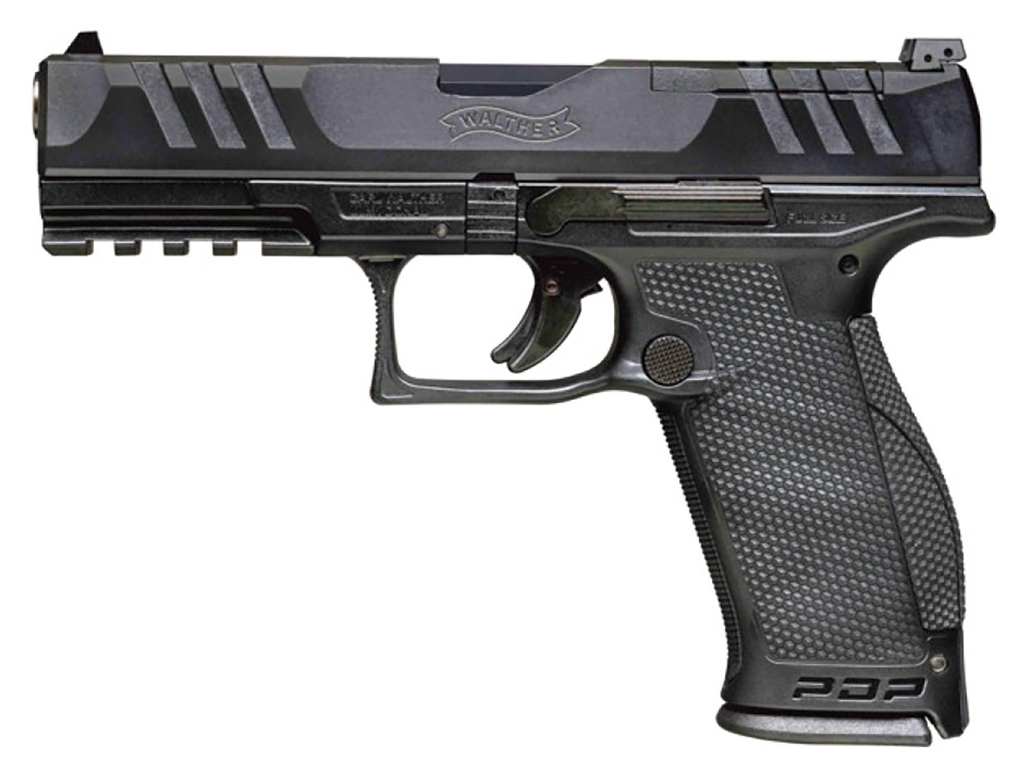 Walther Arms 2844001 PDP Optic Ready 9mm Luger 5