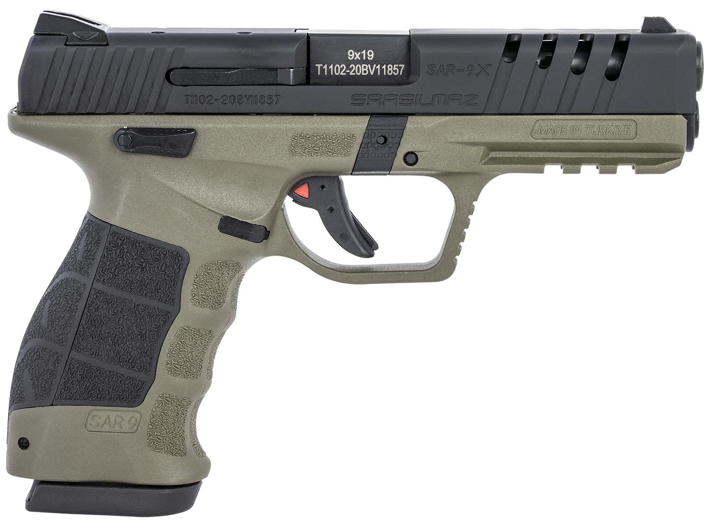 Sar USA SAR9XODBL SAR9X  9mm Luger 4.40