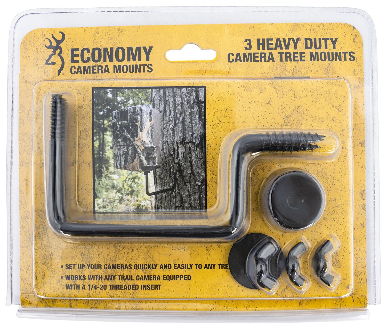 Browning Trail Cameras ECM Economy Tree Mount Fits Browning Trail Cameras Brown Steel