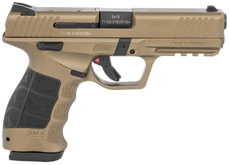 Sar USA SAR9BR SAR9  9mm Luger 4.40