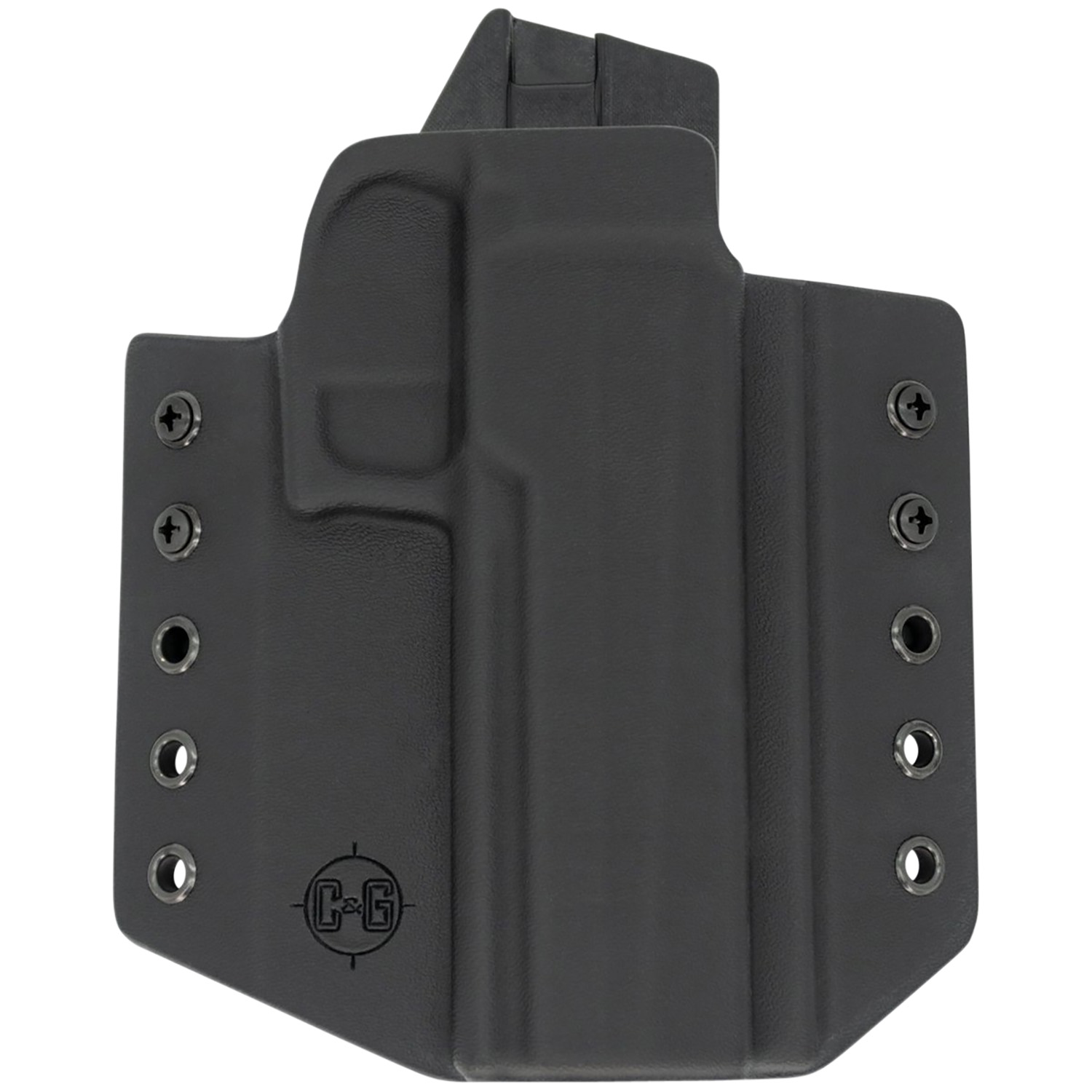 C&G Holsters  Covert Sig P320 Full Size Black Kydex OWB Sig 320 Right Hand