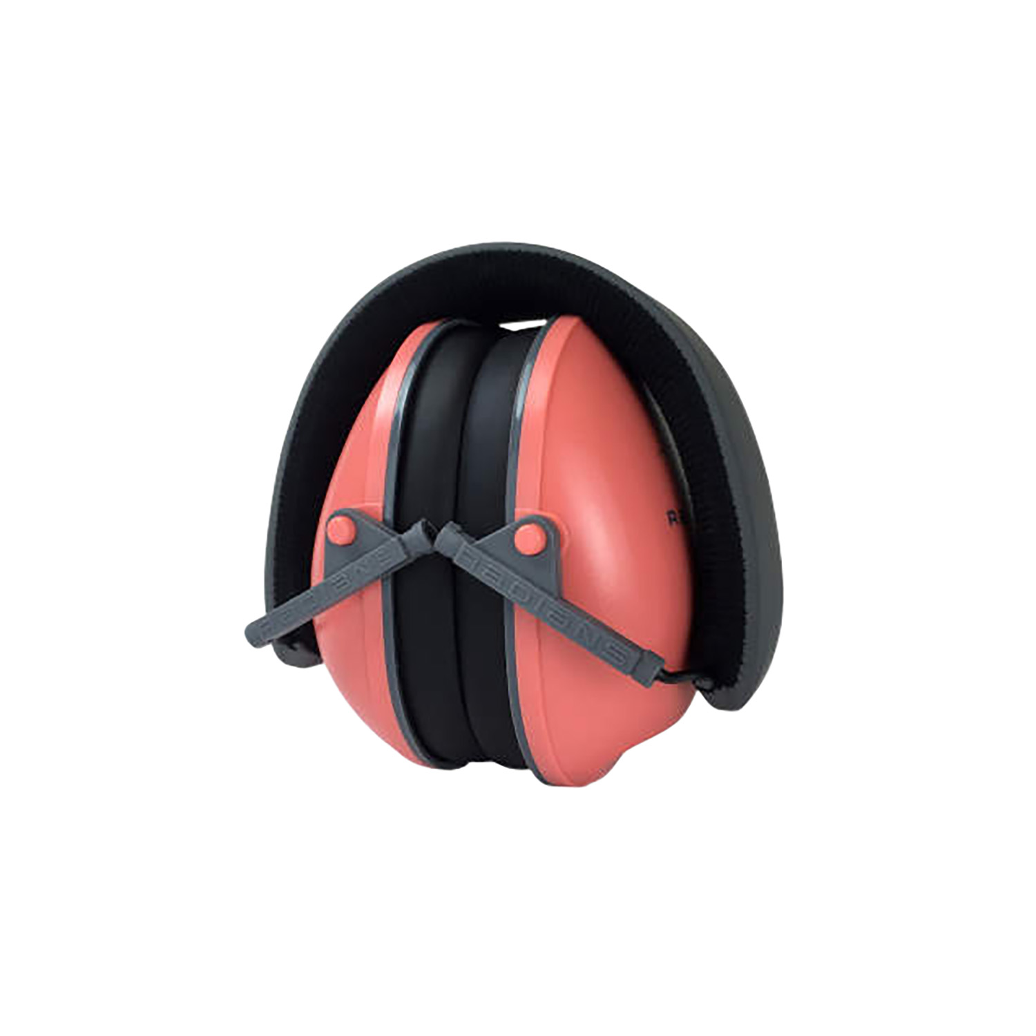 Radians LS0830CS Lowset Passive Muff 21 dB Over the Head Coral Ear Cups with Black Headband for Women 1 Pair